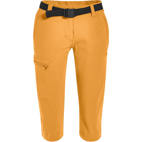 Maier Sports Inara Slim 3/4 Pants Women, blazing orange